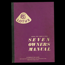 Lotus Seven Owners Manual Series 2, 3 & 4
