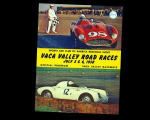 VACA Valley Raceways, SCCA Road Races
