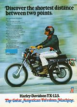 Harley Davidson TX-125