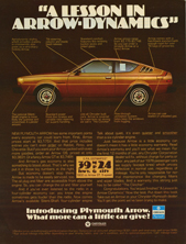 Plymouth Arrow