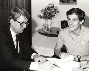 Peter Warr, Senna