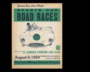 St Luis Obispo Sports Car Races