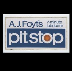 AJ Foyt's pitstop