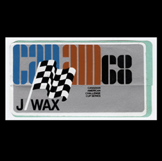 J Wax Can-Am 1968