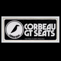 Corbeau GT Seats