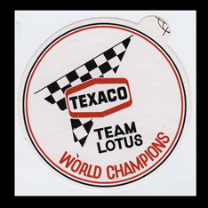 Texaco Team Lotus