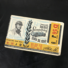 1950 Indy 500 Ticket