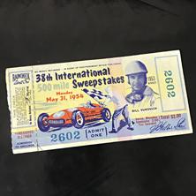 1954 Indy 500 Ticket