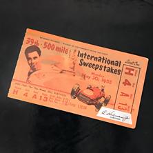 1955 Indy 500 Ticket