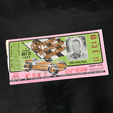 1959 Indy 500 Ticket