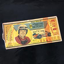 1965 Indy 500 Ticket
