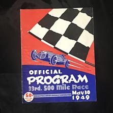 1949 Indy Program