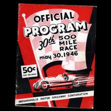 1946 Indy Program