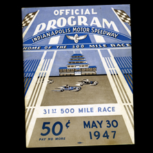 1947 Indy Program