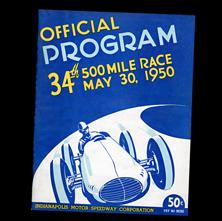 1950 Indy Program