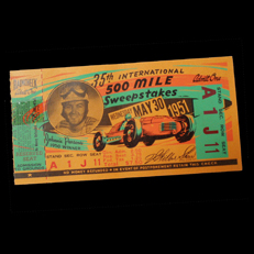 1951 Indy 500 Ticket