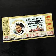1970 Indy 500 Ticket