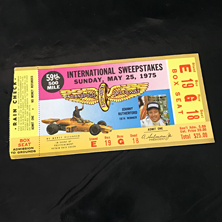 1975 Indy 500 Ticket