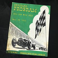 1952 Indy Program