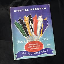 1954 Indy Program