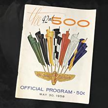 1958 Indy Program