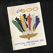 1959 Indy Program