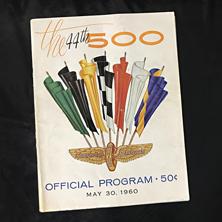 1960 Indy Program