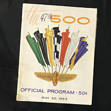 1963 Indy Program