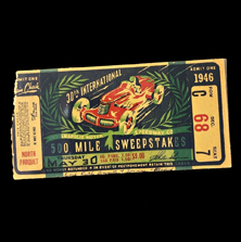 1946 Indy 500 Ticket