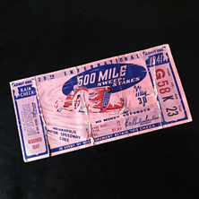 1941 Indy 500 Ticket