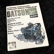 Datsun Workshop Manual No.88