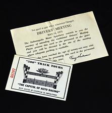 1975 Drivers Meeting