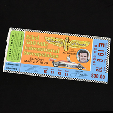 1979 Indy 500 Ticket