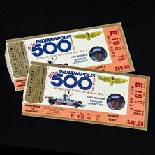 1983 Indy 500 Ticket