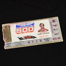 1986 Indy 500 Ticket