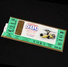 1988 Indy 500 Ticket
