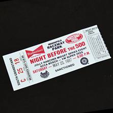 1987 Night Before 500
