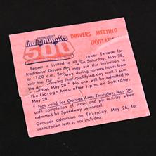 1988 Drivers Meeting