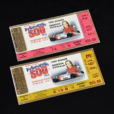 1990 Indy 500 Ticket