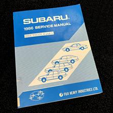 Subaru: 1986 Servive Manual