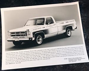 GMC Indy 500 Official Truck