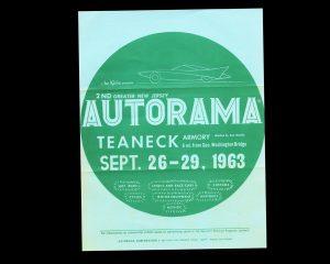 Teaneck Armory, 2nd New Jersey Autorama