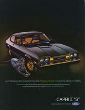Ford Capri II 'S'