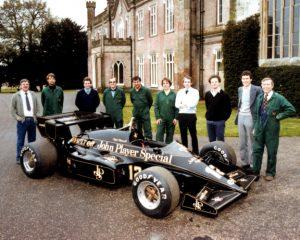Team Lotus crew