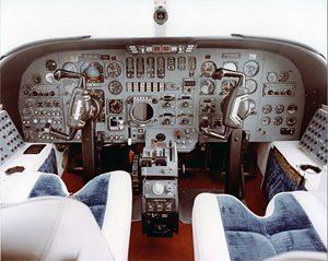 Essex Jet cockpit