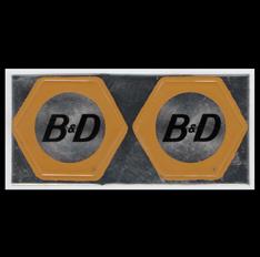 B & D