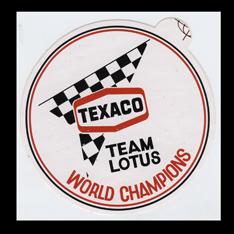 Texaco Team Lotus
