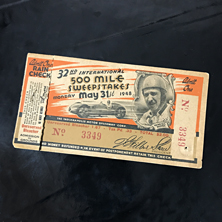 1948 Indy 500 Ticket