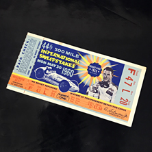 1960 Indy 500 Ticket