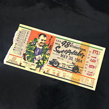 1964 Indy 500 Ticket